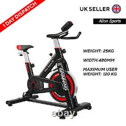 13KG Exercise Spin Indoor Cycling Bike Home Fitness Workout Cardio Machines