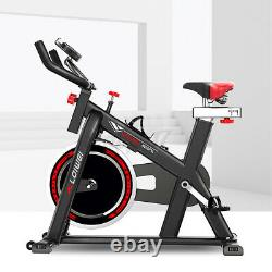 150KG Exercise Bikes Indoor Cycling Spin Bike Bicycle Fitness Workout Cardio UK