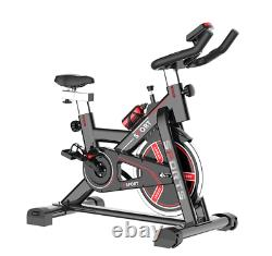15KG Stationary Bicycle Exercise Bike Indoor Cycling Home Fitness Workout Cardio