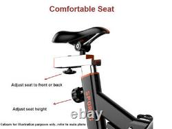 15kg Flywheel Stationary Exercise Spinning Spin Bike Home Fitness Workout Cardio