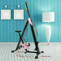 2 in 1 Vertical Climber Gym Exercise Fitness Machine Stepper Cardio Workout NEW