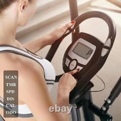 4-in1 Elliptical Cross Trainer Exercise Bike-Fitness Cardio Weightloss Machine