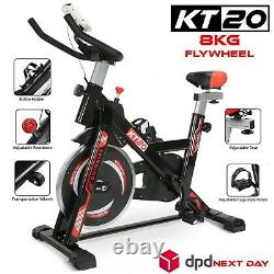 8kg Flywheel Stationary Exercise Spinning Spin Bike Home Fitness Workout Cardio