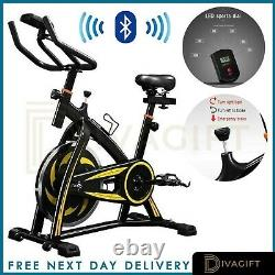 BLUETOOTH Exercise Spin Bike Gym Bicycle Cycling Cardio Fitness Training Workout