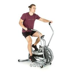 Capital Sports Excercise Cardio Bike Training Cross Trainer Gym Home Silver New