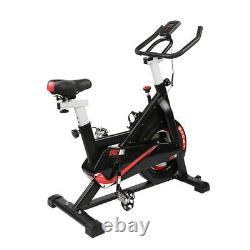 Cardio Exercise Bike Flywheel Cycling Bicycle with LCD Home Fitness Training