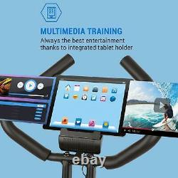 Excercise Bike Cardio Machine Fitness Home Gym Heart Rate Foldable LCD Display