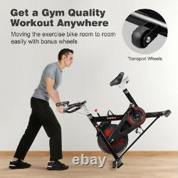 Exercise Bike Cycling Training Bike Bicycle Home Fitness Cardio Workout Machine