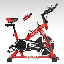Exercise Bike Fitness Gym Indoor Cycling Stationary Bicycle Cardio Workout withLCD