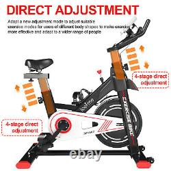 Exercise Bike Gym Cycling Sport LCD Training Fitness Home Cardio Magnetic 150KG