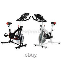 Exercise Bike Home Gym Bicycle Cycling Cardio Fitness Training Indoor Workout UK