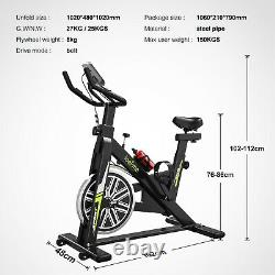 Exercise Bikes 8KG Cycling Bike Bicycle Home Fitness Workout Cardio Machines UK