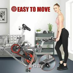 Exercise Bikes Cycling Bicycle Fitness Workout Cardio Machines 33lbs Flywheels
