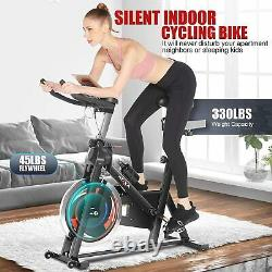 Exercise Bikes Cycling Bike Bicycle Home Fitness Workout Cardio Machines APP/LCD