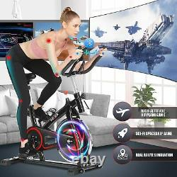 Exercise Bikes Cycling Bike Bicycle Home Fitness Workout Cardio Machines APP LCD