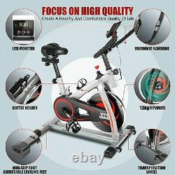 Exercise Bikes Home Gym Bicycle Cycling Cardio Fitness Indoor Training Bike Grey