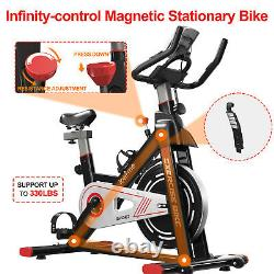 Exercise Bikes Indoor Cycling Bike Bicycle Fitness Home Workout Cardio Machines
