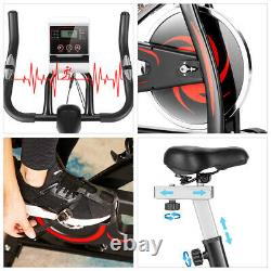 Exercise Bikes Indoor Cycling Bike Bicycle Home Fitness Workout Cardio LCD Black