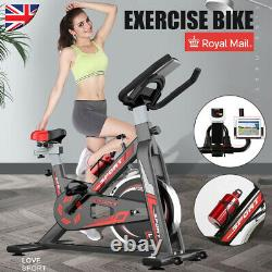 Exercise Bikes Indoor Cycling Bike Bicycle Home Fitness Workout Cardio With Kettle