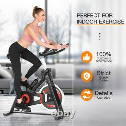 Exercise Bikes Indoor Cycling Bike Bicycle Home Fitness Workout Cardio withAPP LCD