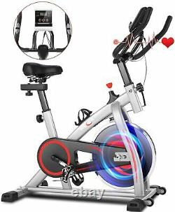 Exercise Bikes Indoor Cycling Bike Home Bicycle Fitness Workout Cardio WithAPP LCD