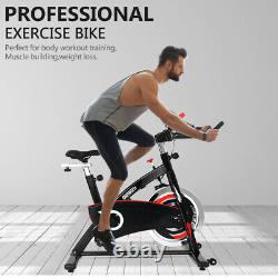 Exercise Bikes Indoor Cycling Spin Bike Bicycle Fitness Workout Cardio Machines