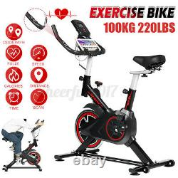 Exercise Spin Bike Home Gym Bicycle Cycling Cardio Fitness Bike Training Indoor
