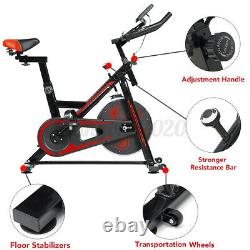 Exercise Spin Bike Home Gym Bicycle Cycling Cardio Fitness Training Heart Rate