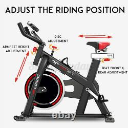 Exercise Spin Bike Home Gym Bicycle Cycling Cardio Fitness Training Indoor Home