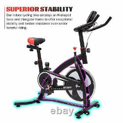 Exercise Spin Bike Home Gym Bicycle Cycling Cardio Fitness Training Workout 6kg