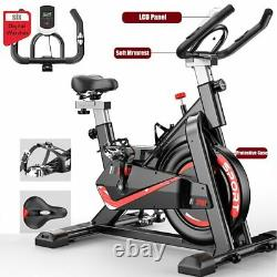 Exercise Spin Bike Home Gym Bike Cycling Cardio Fitness Training Workout Bike UK