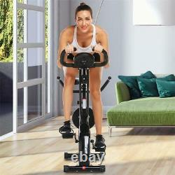 Fitness Folding Bike Magnetic Control Spinning Exercise Cardio Machine withAPP NEW