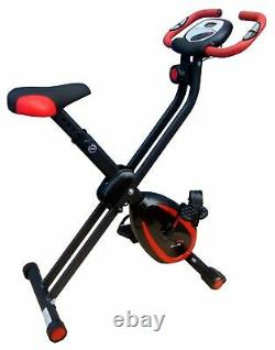 Folding Magnetic Exercise Bike From Xerfit cycle fitness cardio work