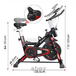 GEEMAX Exercise Bike Indoor Gym Bicycle Cycling Cardio Fitness Training Sport UK