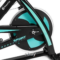 Green Exercise Bike Home Gym Bicycle Cycling Cardio Fitness Training Indoor