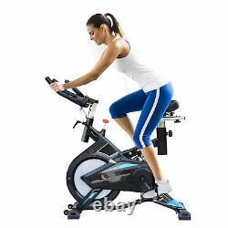 HOMCOM Stationary Exercise Bike Indoor Cycling Bicycle Cardio Workout Trainer