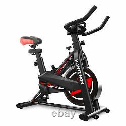 Heavy Duty Exercise Bike Fitness Home Gym Training LCD Cardio Workout Machine UK