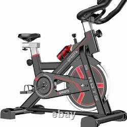 Home Exercise Bike Ultra Quiet Indoor Cardio Cycle Trainer Fitness Training Bike