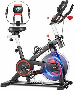 Home Gym Exercise Bike Fitness Cardio Workout Machine Indoor Training 150KGS UK