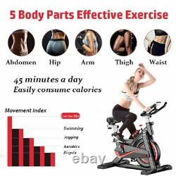 Home Indoor Exercise Bike/Cycle Gym Weightlifting Trainer Cardio Fitness Workout