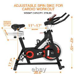 Home Indoor Gym Exercise Bike Fitness Cardio Workout Machine Training 2Choices