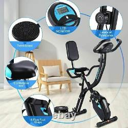 Indoor Exercise Bike Training Cycle Fitness Cardio Workout Home Machine with APP