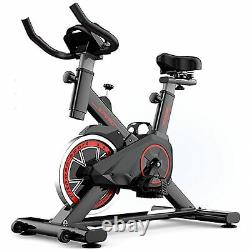 Indoor Exercise Bikes Cycling Spin Bike Bicycle Home Fitness Workout Cardio UK