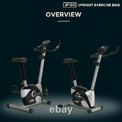 JF100 Home Exercise Bike, 2021 New Adjustable Magnetic Resistance Cardio Workout