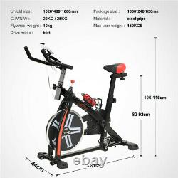 LOEFME Exercise Bike Home Gym Bicycle Cycling Cardio Fitness Training Indoor New