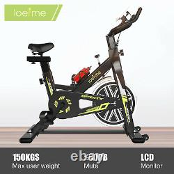 LOEFME Exercise Bikes Indoor Cycling Bike Bicycle Home Fitness Workout Cardio UK