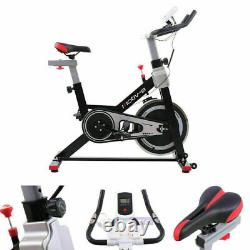NEW Indoor Excercise Bike Cardio With Dual Digital Display Home Fitness