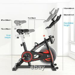 New Home Gym Magnetic Resistance Bicycle Fitness Exercise Bike Workout Cardio