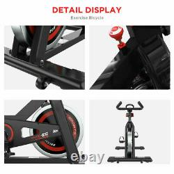 Pro Heavy Duty Exercise Bike Home Gym Sports Cycling Cardio Fitness LED Monitor