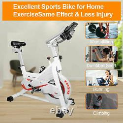 Spin Exercise Bicycle Indoor Cycling Bike for Home Gym Cardio Workout Training